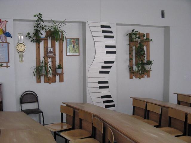 Как оформить кабинет музыки в школе своими руками фото